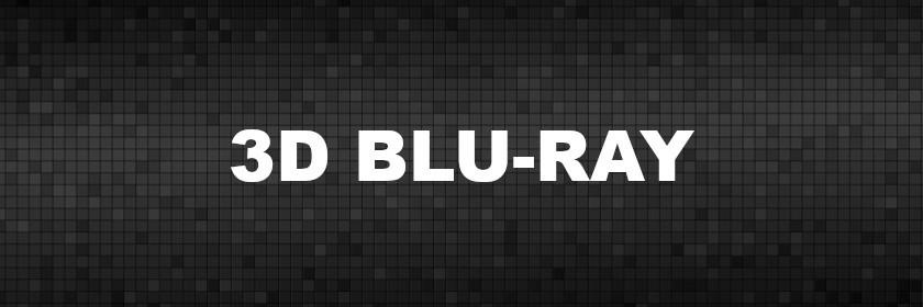 3D Blu-rays