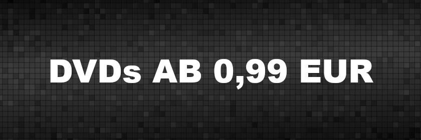 DVDs ab 0,99 EUR