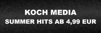 Koch Media - Aktion Summer Hits für 4,99 EUR