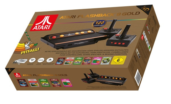 Atari Flashback Gold 8 HD