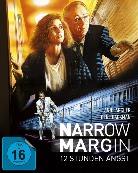 Narrow Margin - 12 Stunden Angst - Limited Mediabook Edition [Blu-ray+DVD]