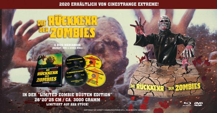 Die Rückkehr der Zombies - Special Edition Büste [Blu-ray+DVD]