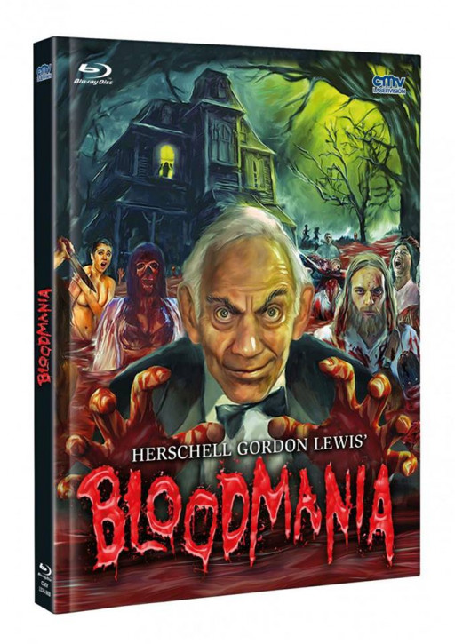 BloodMania - Mediabook [Blu-ray+DVD]