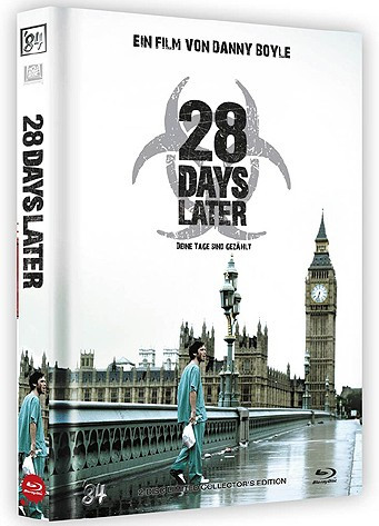 28 Days Later - Limited Collector's Edition - Cover B [Blu-ray+DVD]