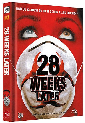 28 Weeks later - Limited Collector's Edition - Cover A [Blu-ray+DVD]