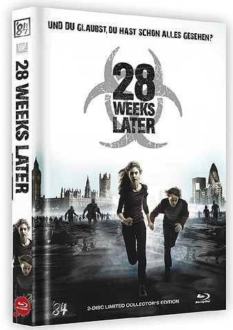 28 Weeks later - Limited Collector's Edition - Cover B [Blu-ray+DVD]