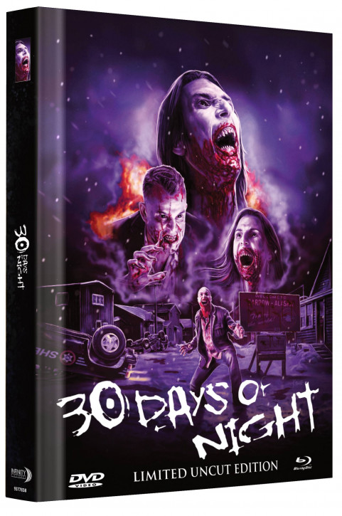 30 Days of Night - Limited Mediabook Edition - Cover A [Blu-ray+DVD]