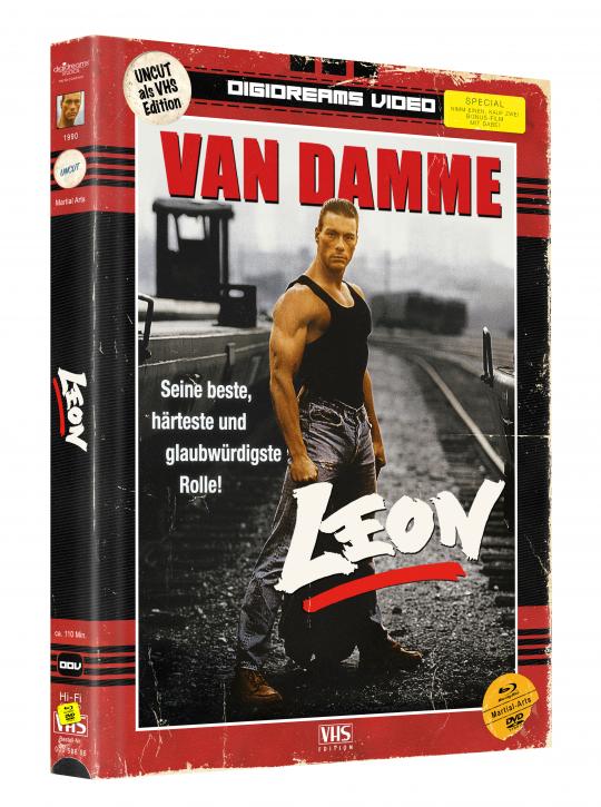 Leon - Limited Mediabook VHS Edition [Blu-ray+DVD]