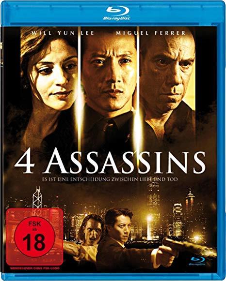 4 Assassins - Es ist eine Entscheidung zwischen Liebe und Tod [Blu-ray]