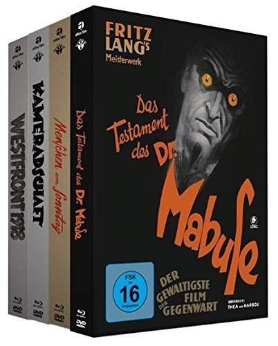 4 Filmklassiker als Mediabook - Bundle [Blu-ray+DVD]