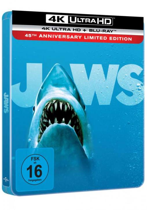 Der weiße Hai - Limited Steelbook Edition [4K UHD+Blu-ray]