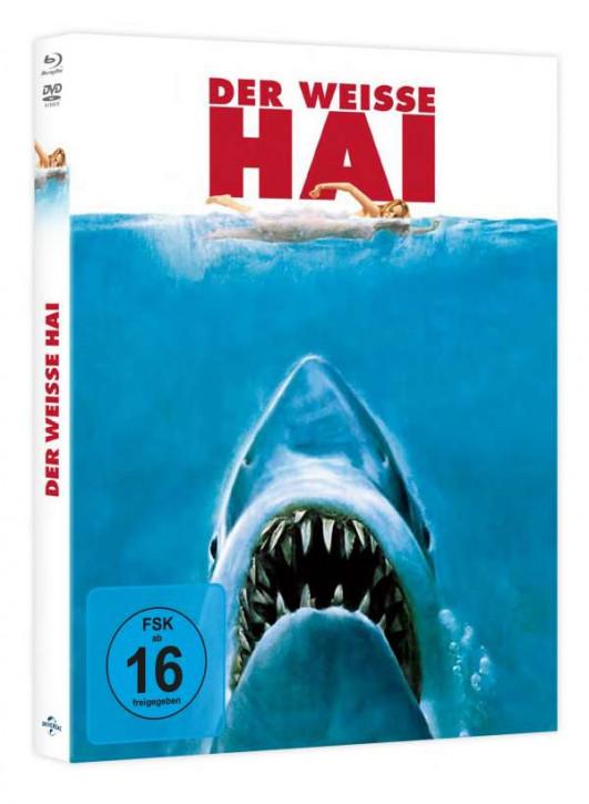 Der weiße Hai - Limited Mediabook Edition [Blu-ray+DVD]