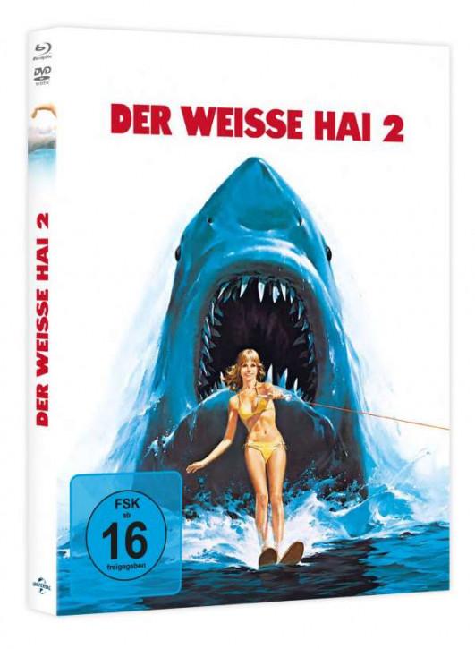 Der weiße Hai 2 - Limited Mediabook Edition [Blu-ray+DVD]
