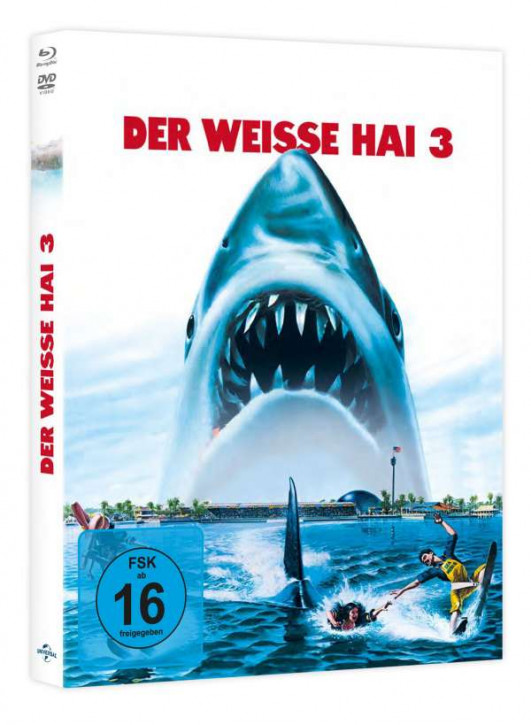 Der weiße Hai 3 - Limited Mediabook Edition [Blu-ray+DVD]