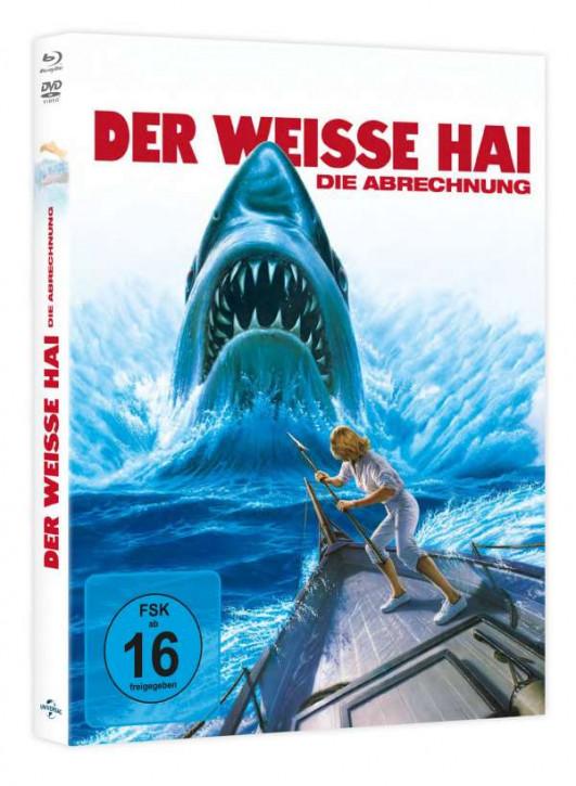 Der weiße Hai 4 - Limited Mediabook Edition [Blu-ray+DVD]
