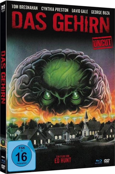 Das Gehirn - Limited Mediabook Edition - [Blu-ray+DVD]