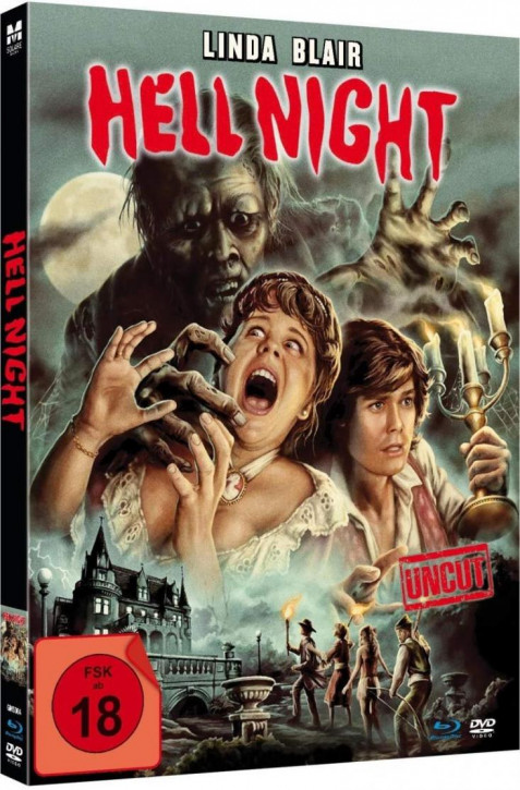 Hell Night - Limited Mediabook Edition - [Blu-ray+DVD]