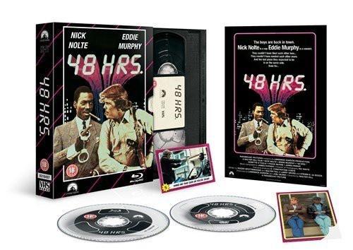 48 HRS. (Nur 48 Stunden) VHS-Edition (UK-Import) [Blu-ray]