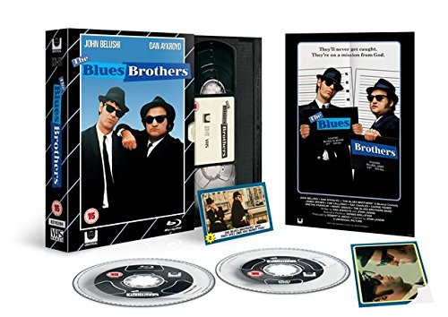 The Blues Bothers - Limited VHS-Edition (UK-Import) [Blu-ray+DVD]