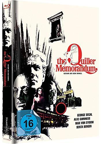 The Quiller Memorandum - Limited Mediabook Edition - Cover C [Blu-ray+DVD]