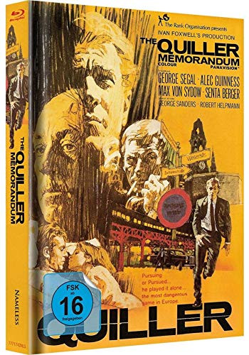 The Quiller Memorandum - Limited Mediabook Edition - Cover A [Blu-ray+DVD]