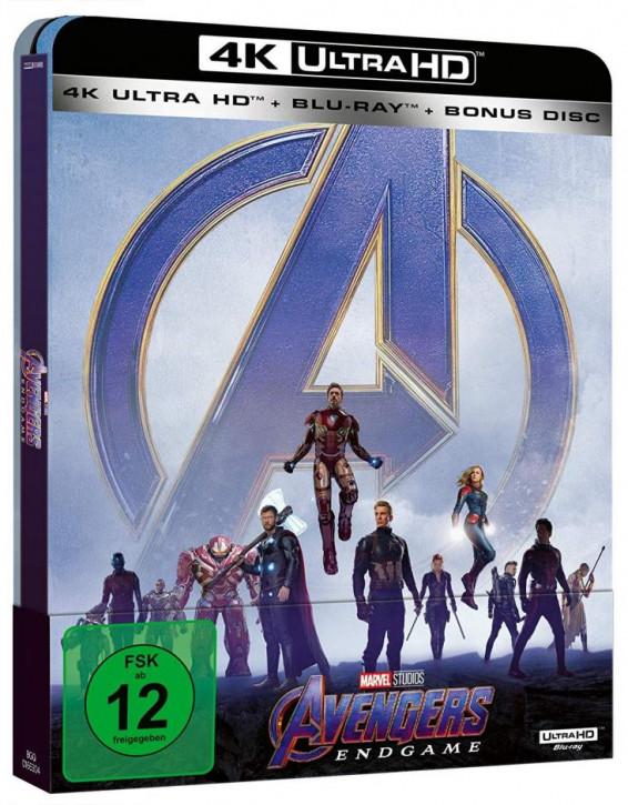 Avengers: Endgame - Steelbook Edition [4K UHD Blu-ray]