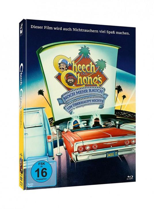 Cheech & Chong - Noch mehr Rauch um überhaupt nichts & Jetzt hats sich ausgeraucht - Limited Mediabook Edition - [Blu-ray+DVD]