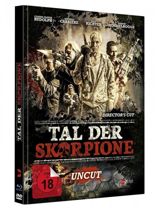Tal der Skorpione - Limited Mediabook Edition - [Blu-ray+DVD]