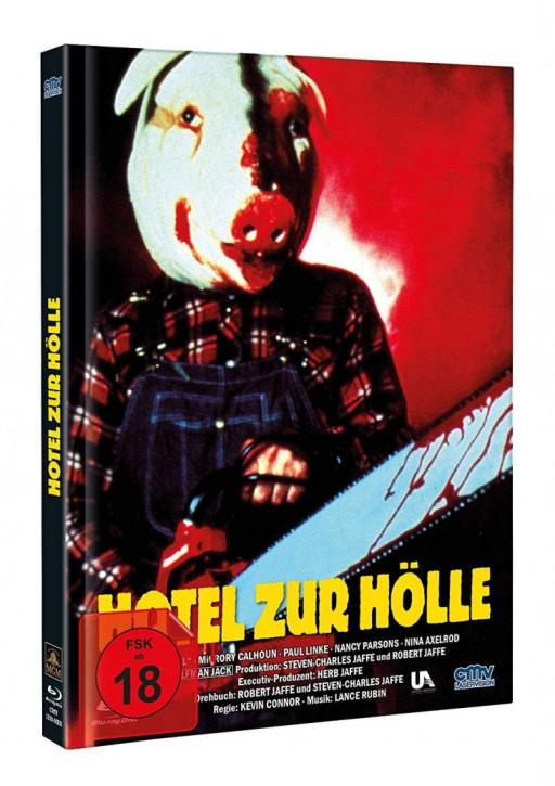 Hotel zur Hölle - Limited Mediabook - Cover B [Blu-ray+DVD]