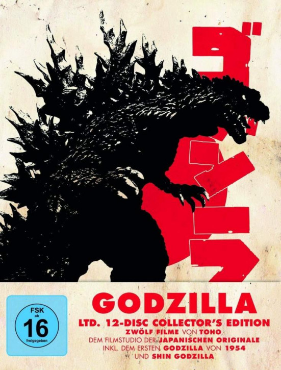Godzilla - Limited Collectors Edtion [Blu-ray]
