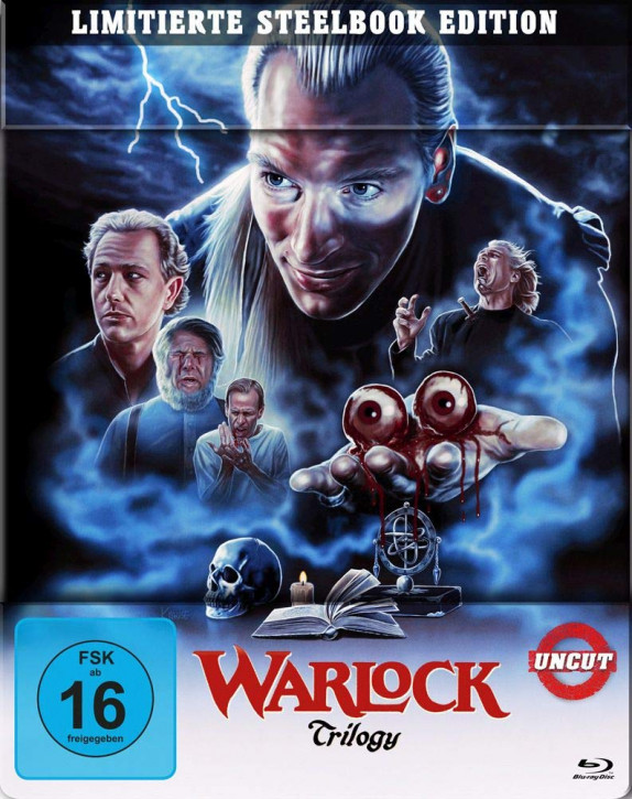 Warlock Trilogy - Steelbook [Blu-ray]