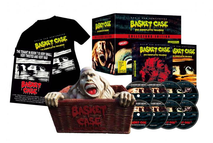 Basket Case - Die komplette Trilogie - Collectors Edition inkl. Figur [Blu-ray+DVD]