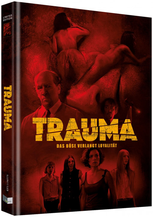 Trauma - Das Böse verlangt Loyalität - Limited Collectors Edition - Cover B [Blu-ray+DVD]