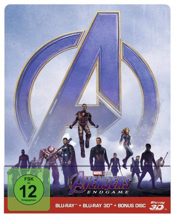 Avengers: Endgame - Steelbook Edition [Blu-ray 3D+Blu-ray]