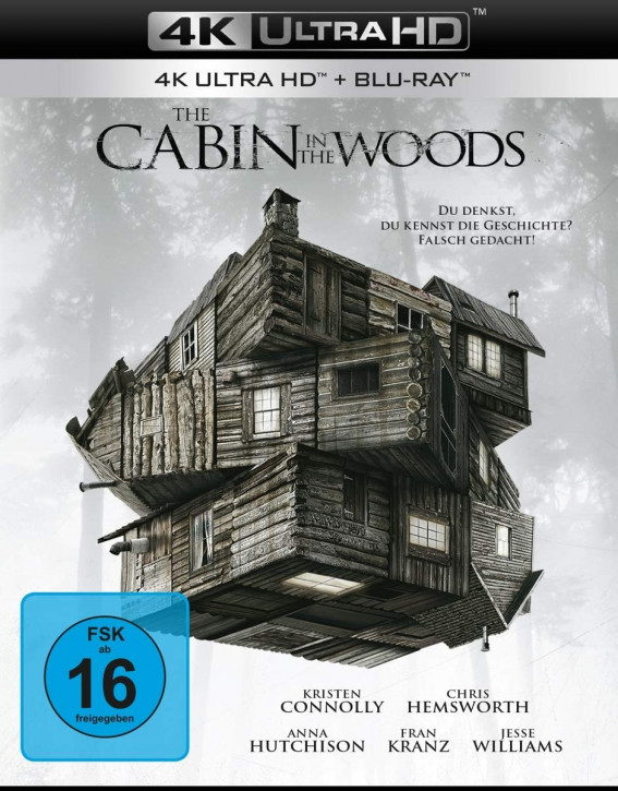 The Cabin in the Woods [4K UHD+Blu-ray]
