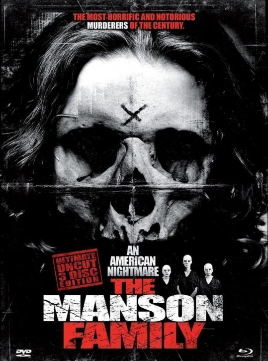 The Manson Family - Limited Mediabook Edition [Blu-ray+DVD]
