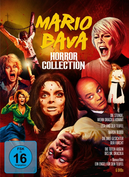 Mario Bava Horror Collection [DVD]
