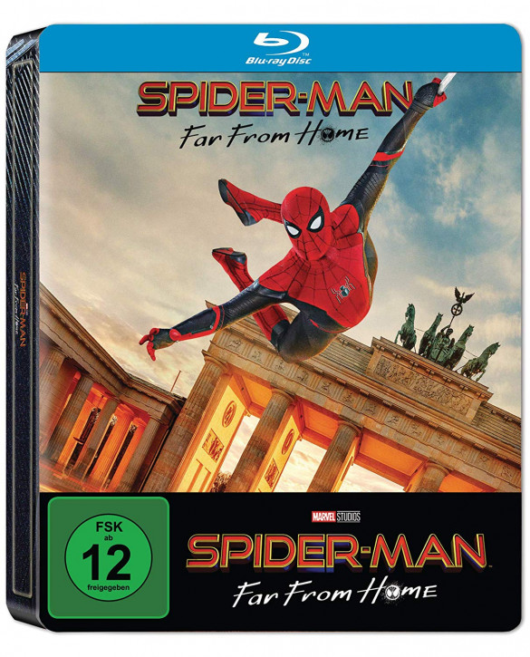 Spider-Man: Far From Home - Steelbook [Blu-ray]