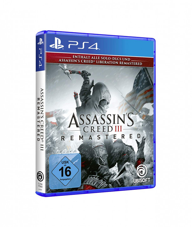 Assassin's Creed III Remastered - [PS4]