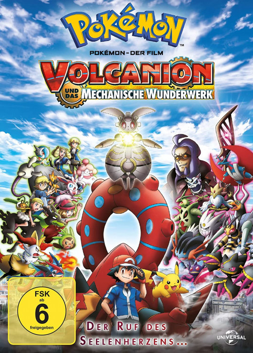 Pokemon 19 - Der Film: Volcanion und das mechanische Wunderwerk [DVD]