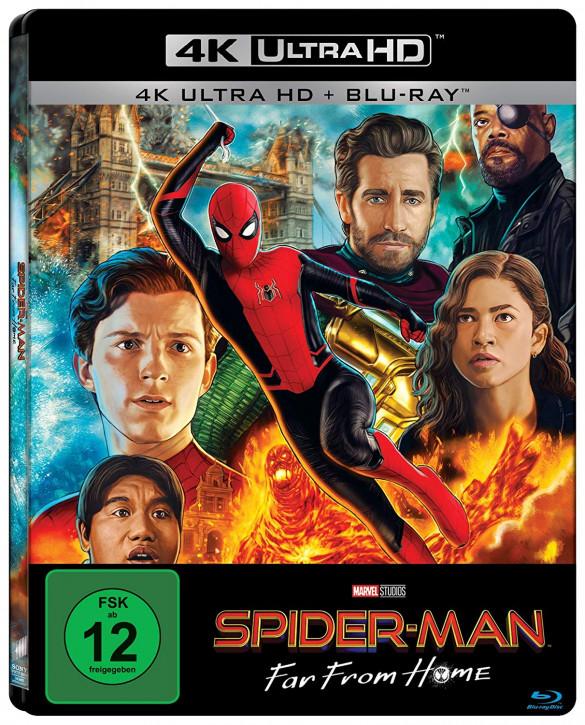 Spider-Man: Far From Home - Steelbook [4K UHD Blu-Ray]