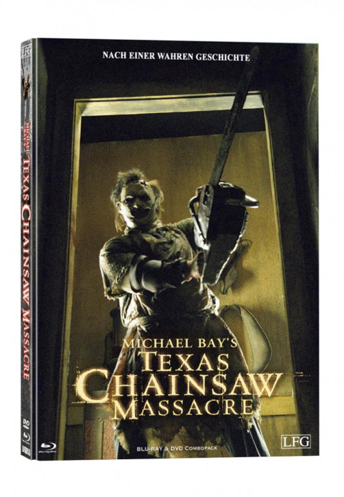 The Texas Chainsaw Massacre - Mediabook - Cover A [Blu-ray+DVD]