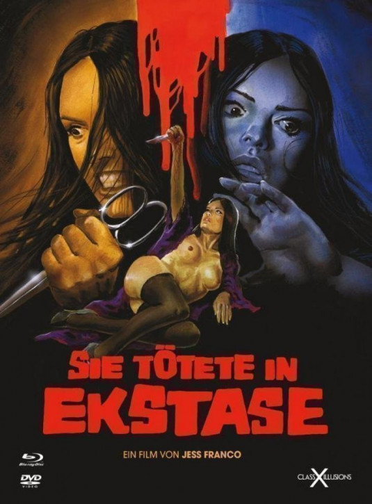 Sie tötete in Ekstase - Limited Collectors Edition - Class-X-Illusions [Blu-ray+DVD]