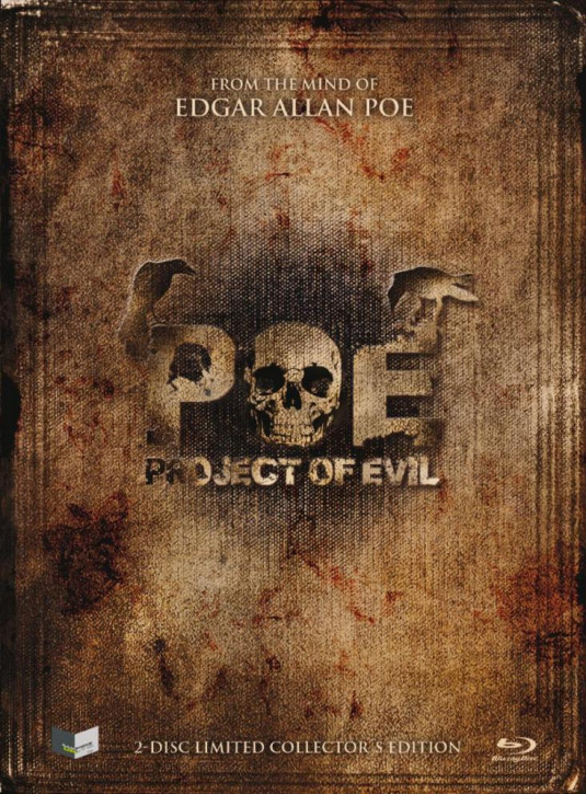 POE - Project of Evil - Limited Mediabook Edition - Cover A [Blu-ray+DVD]