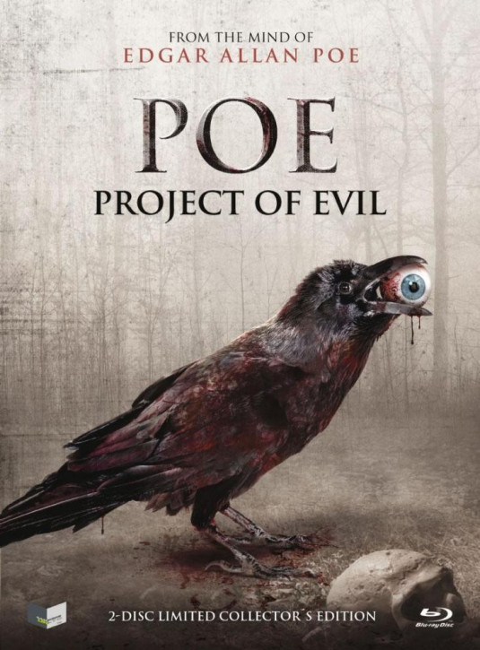 POE - Project of Evil - Limited Mediabook Edition - Cover B [Blu-ray+DVD]