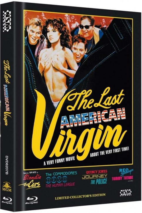 Die letzte amerikanische Jungfrau - Limited Mediabook Edition - Cover B [Blu-ray+DVD]