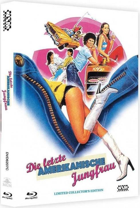 Die letzte amerikanische Jungfrau - Limited Mediabook Edition - Cover C [Blu-ray+DVD]