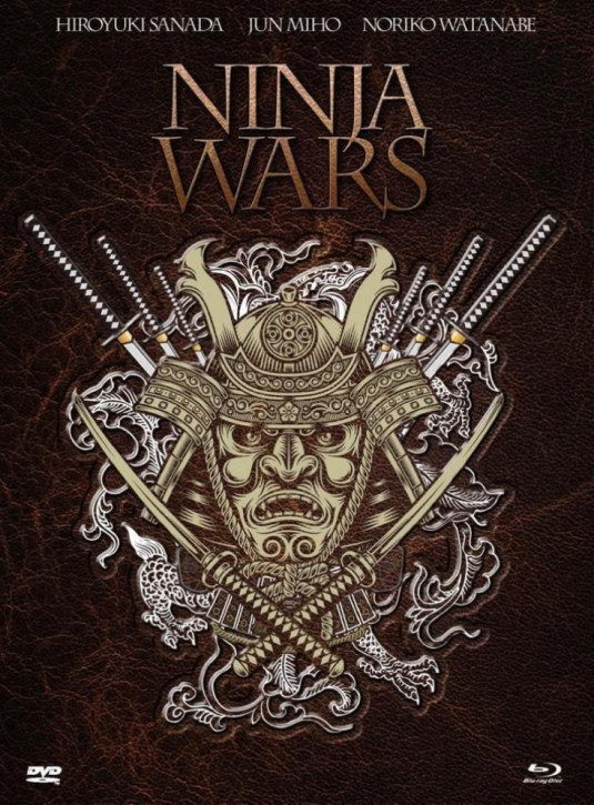 Ninja Wars - Limited Mediabook Edition - [Blu-ray+DVD]