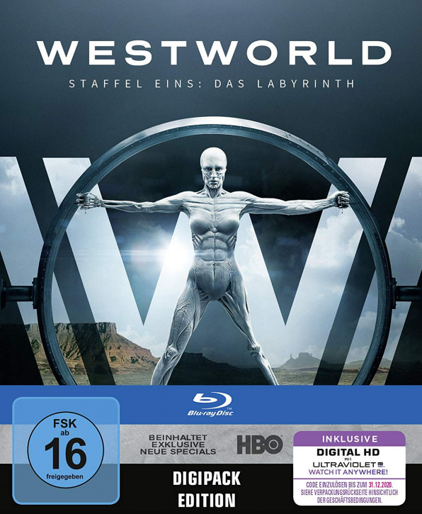 Westworld Staffel 1: Das Labyrinth (Digipack) [Blu-ray]