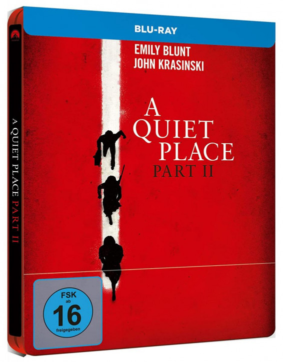 A Quiet Place 2 - Steelbook [Blu-ray]
